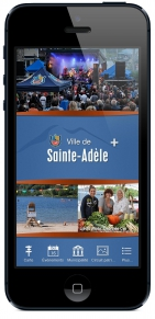 Sainte-Adèle se dote d'une application mobile
