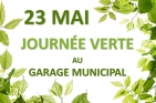 Journée verte au garage municipal