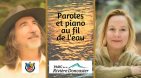 Paroles et piano au fil de l'eau
