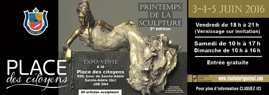 Le printemps de la sculpture